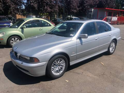 2003 BMW 5 Series for sale at Blue Line Auto Group in Portland OR