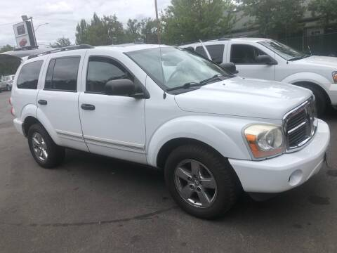 2006 Dodge Durango for sale at Blue Line Auto Group in Portland OR