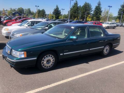 1997 Cadillac DeVille for sale at Blue Line Auto Group in Portland OR