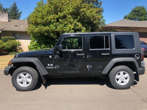 2007 Jeep Wrangler Unlimited for sale at Blue Line Auto Group in Portland OR