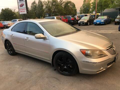 2005 Acura RL for sale at Blue Line Auto Group in Portland OR