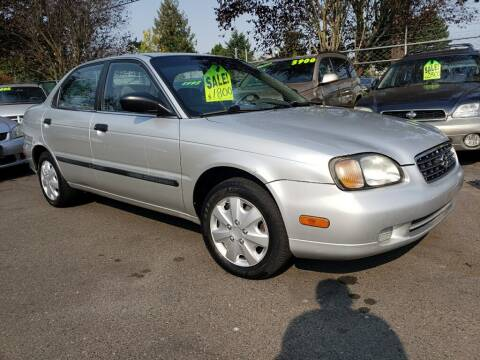 2002 Suzuki Esteem for sale at Blue Line Auto Group in Portland OR