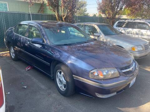 2002 Chevrolet Impala for sale at Blue Line Auto Group in Portland OR