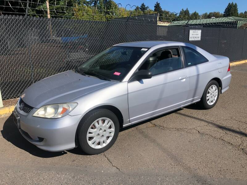 2005 Honda Civic for sale at Blue Line Auto Group in Portland OR