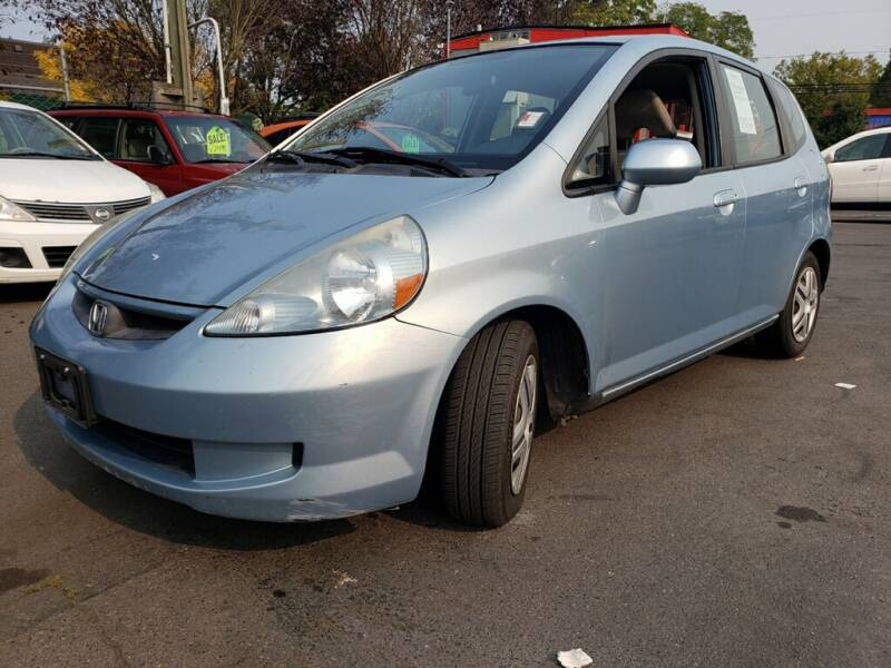 2007 Honda Fit for sale at Blue Line Auto Group in Portland OR