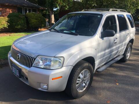 2005 Mercury Mariner for sale at Blue Line Auto Group in Portland OR