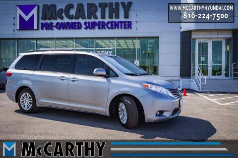 2017 Toyota Sienna for sale at Mr. KC Cars - McCarthy Hyundai in Blue Springs MO