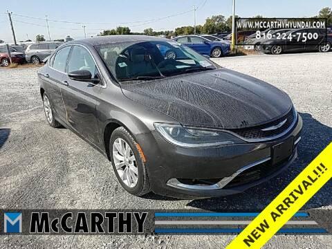 2015 Chrysler 200 for sale at Mr. KC Cars - McCarthy Hyundai in Blue Springs MO