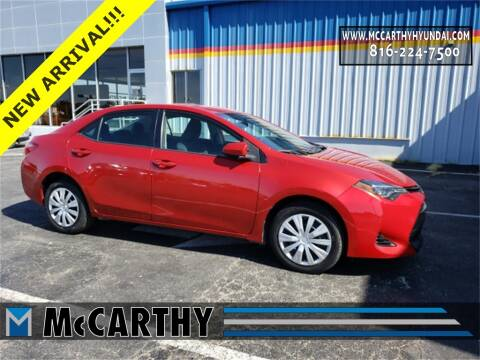 2017 Toyota Corolla for sale at Mr. KC Cars - McCarthy Hyundai in Blue Springs MO