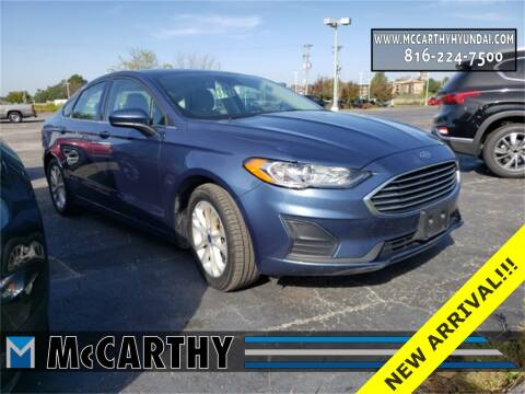 2019 Ford Fusion for sale at Mr. KC Cars - McCarthy Hyundai in Blue Springs MO