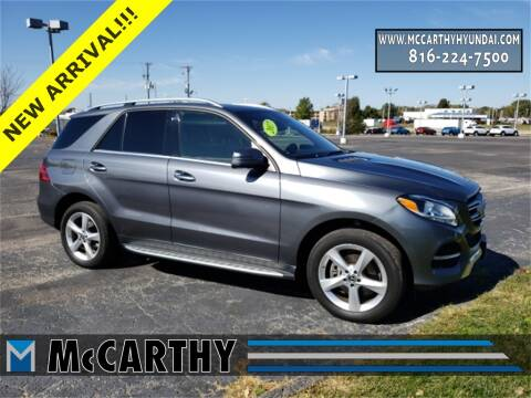 2017 Mercedes-Benz GLE for sale at Mr. KC Cars - McCarthy Hyundai in Blue Springs MO