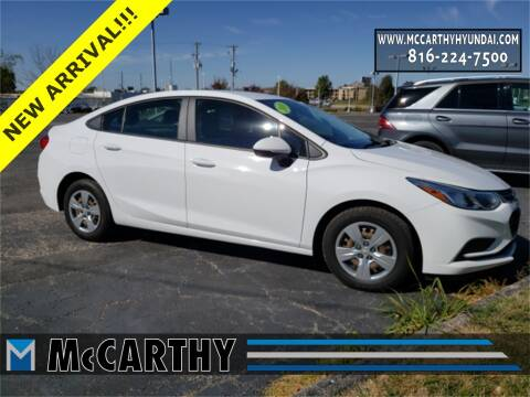 2018 Chevrolet Cruze for sale at Mr. KC Cars - McCarthy Hyundai in Blue Springs MO