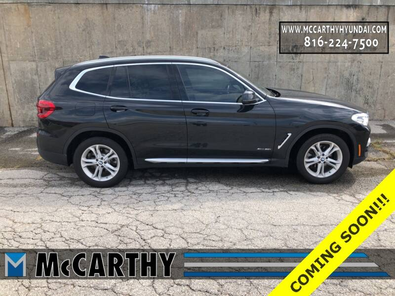 2018 BMW X3 for sale at Mr. KC Cars - McCarthy Hyundai in Blue Springs MO