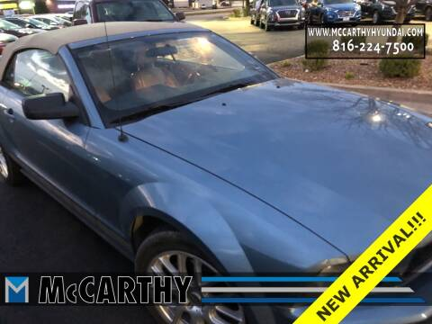 2005 Ford Mustang for sale at Mr. KC Cars - McCarthy Hyundai in Blue Springs MO