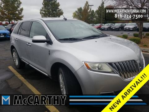 2011 Lincoln MKX for sale at Mr. KC Cars - McCarthy Hyundai in Blue Springs MO