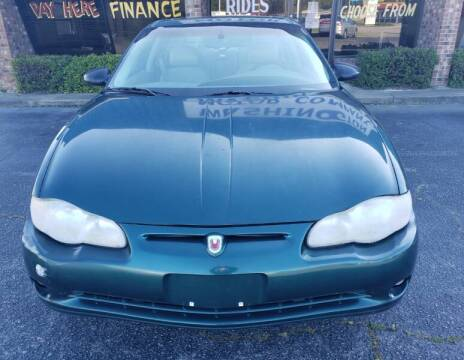 2001 Chevrolet Monte Carlo for sale at Greenville Motor Company in Greenville NC