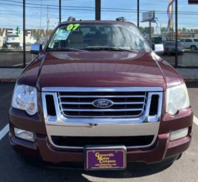 2007 Ford Explorer Sport Trac for sale at Greenville Motor Company in Greenville NC