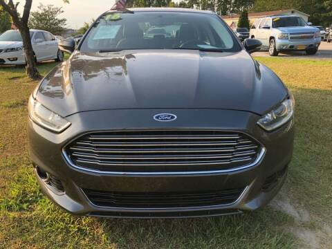 2016 Ford Fusion for sale at Greenville Motor Company in Greenville NC