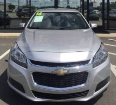 2016 Chevrolet Malibu Limited for sale at Greenville Motor Company in Greenville NC