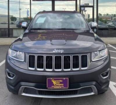 2015 Jeep Grand Cherokee for sale at Greenville Motor Company in Greenville NC