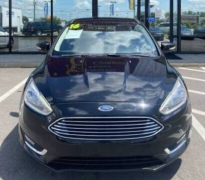 2016 Ford Focus for sale at Greenville Motor Company in Greenville NC