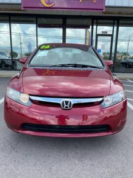 2006 Honda Civic for sale at Greenville Motor Company in Greenville NC