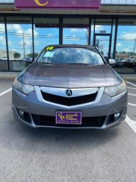 2010 Acura TSX for sale at Greenville Motor Company in Greenville NC