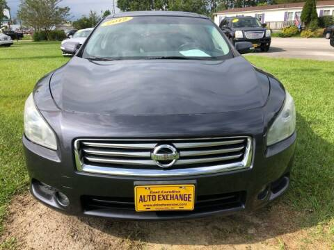 2012 Nissan Maxima for sale at Greenville Motor Company in Greenville NC
