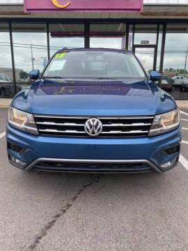 2018 Volkswagen Tiguan for sale at Greenville Motor Company in Greenville NC