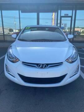 2015 Hyundai Elantra for sale at Greenville Motor Company in Greenville NC