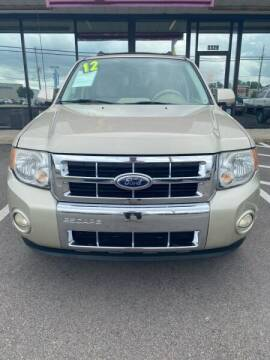 2012 Ford Escape for sale at Greenville Motor Company in Greenville NC