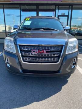 2011 GMC Terrain for sale at Greenville Motor Company in Greenville NC