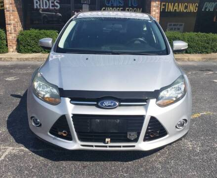 2014 Ford Focus for sale at Greenville Motor Company in Greenville NC