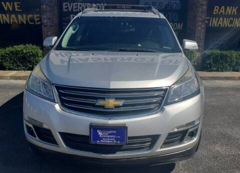 2014 Chevrolet Traverse for sale at Greenville Motor Company in Greenville NC