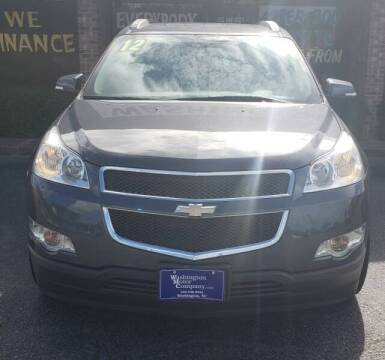 2012 Chevrolet Traverse for sale at Greenville Motor Company in Greenville NC