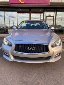 2014 Infiniti Q50 for sale at Greenville Motor Company in Greenville NC