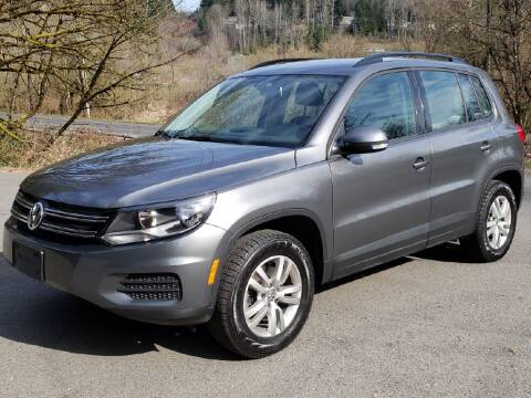 2014 Volkswagen Tiguan for sale at Halo Motors in Bellevue WA
