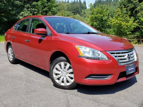 2015 Nissan Sentra for sale at Halo Motors in Bellevue WA