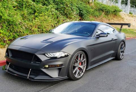 2018 Ford Mustang for sale at Halo Motors in Bellevue WA