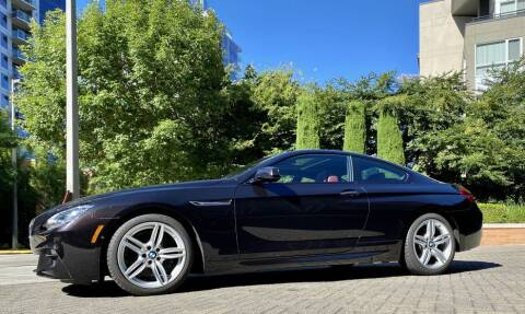 2013 BMW 6 Series for sale at Halo Motors in Bellevue WA