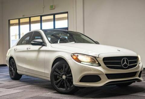 2015 Mercedes-Benz C-Class for sale at Halo Motors in Bellevue WA