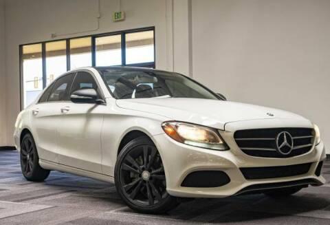 2015 Mercedes-Benz C-Class for sale at Halo Motors in Bellevue WA