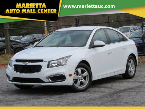 2015 Chevrolet Cruze for sale at Marietta Auto Mall Center in Marietta GA