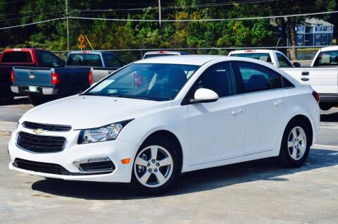 2015 Chevrolet Cruze for sale at Marietta Auto Mall Center in Marietta GA