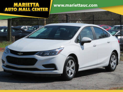 2016 Chevrolet Cruze for sale at Marietta Auto Mall Center in Marietta GA