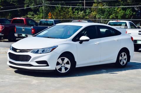 2016 Chevrolet Cruze for sale at Marietta Auto Mall Center in Marietta GA
