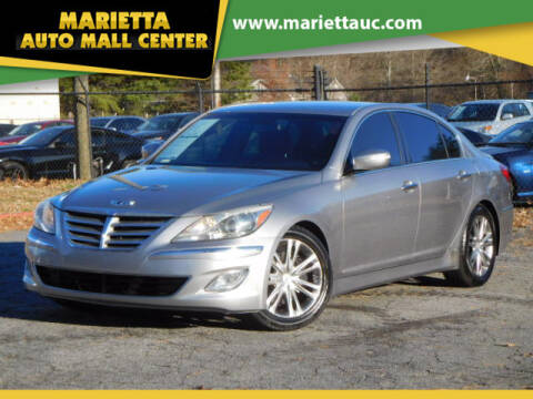 2012 Hyundai Genesis for sale at Marietta Auto Mall Center in Marietta GA