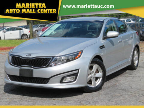 2015 Kia Optima for sale at Marietta Auto Mall Center in Marietta GA