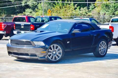 2010 Ford Mustang for sale at Marietta Auto Mall Center in Marietta GA