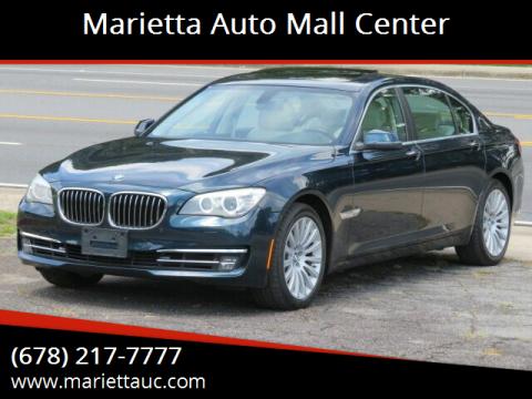 2013 BMW 7 Series for sale at Marietta Auto Mall Center in Marietta GA